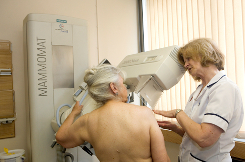 Mammography (Breast x-ray)