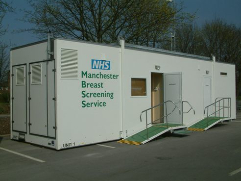 Mobile screening unit